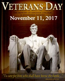 Vets Day Poster 2017